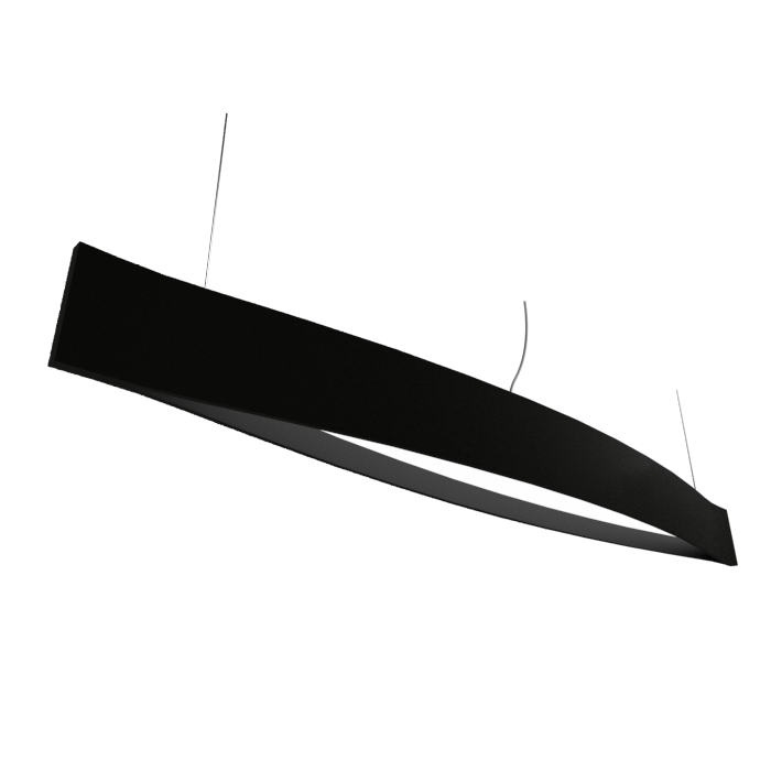 Pendant Lamp Accord Canoa 1279 LED - Clean Line Accord Lighting | 02. Matte Black