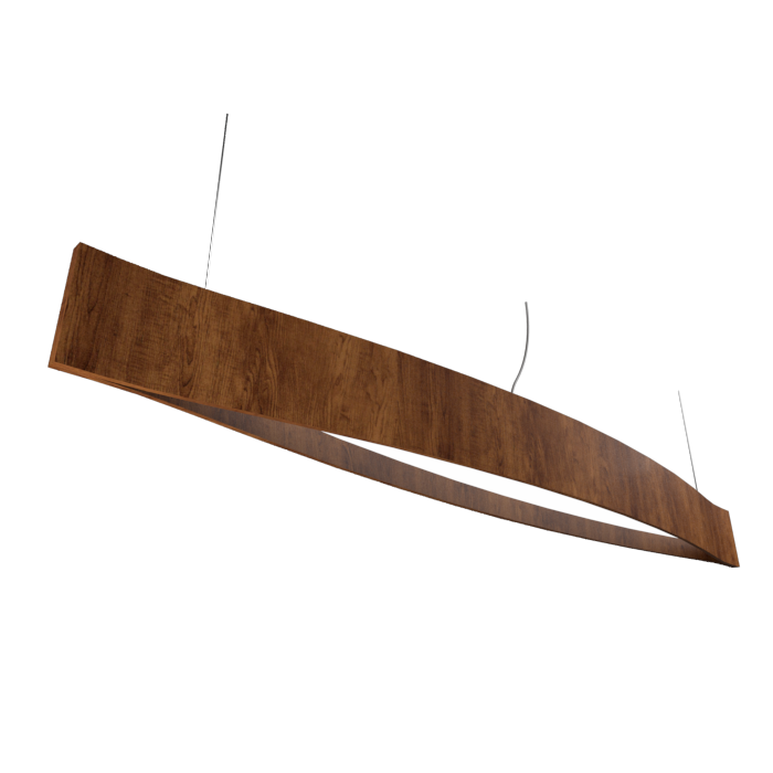 Pendant Lamp Accord Canoa 1279 LED - Clean Line Accord Lighting | 06. Imbuia