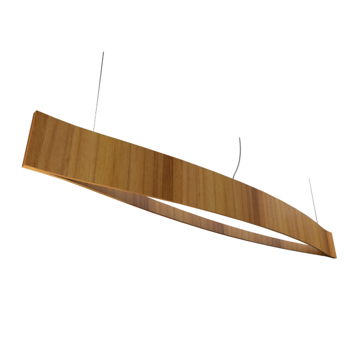 Pendant Lamp Accord Canoa 1279 LED - Clean Line Accord Lighting | 12. Teak