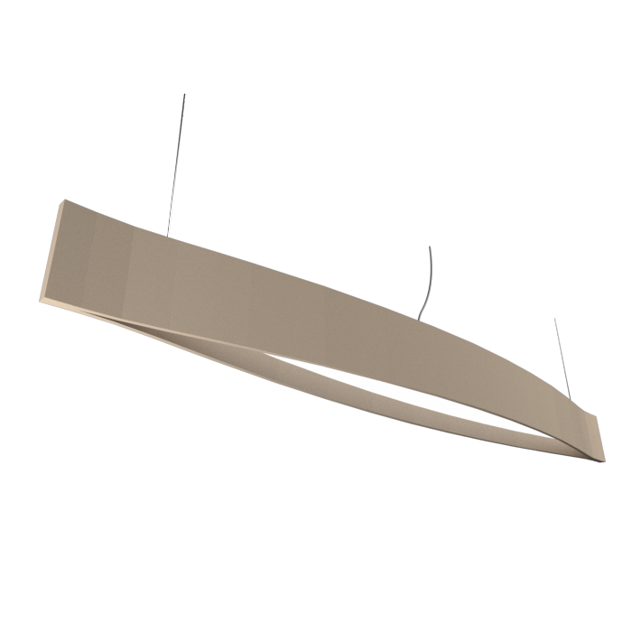 Pendant Lamp Accord Canoa 1279 LED - Clean Line Accord Lighting | 15. Cappuccino