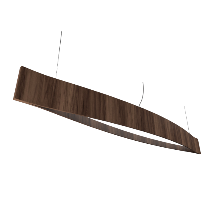 Pendant Lamp Accord Canoa 1279 LED - Clean Line Accord Lighting | 18. American Walnut