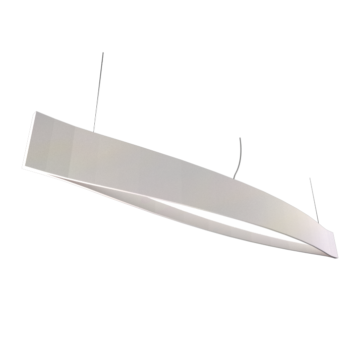 Pendant Lamp Accord Canoa 1279 LED - Clean Line Accord Lighting | 25. Iredescent White