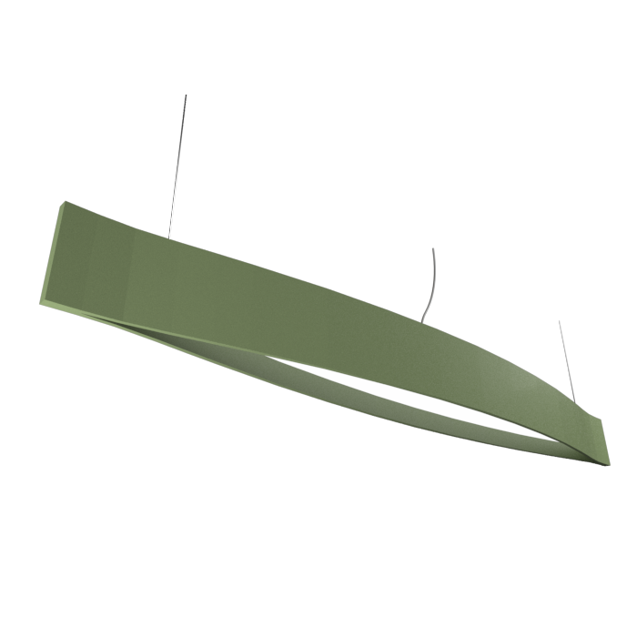 Pendant Lamp Accord Canoa 1279 LED - Clean Line Accord Lighting | 30. Olive Green