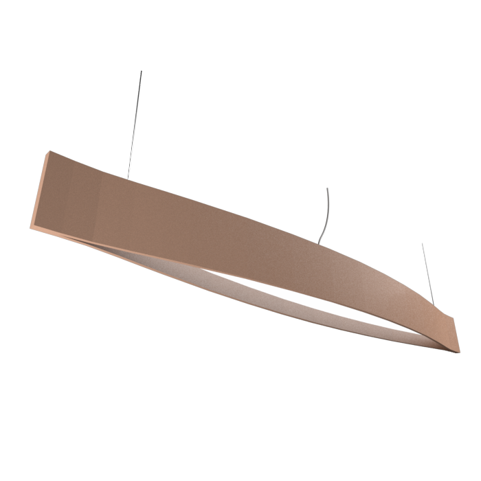Pendant Lamp Accord Canoa 1279 LED - Clean Line Accord Lighting | 33. Bronze