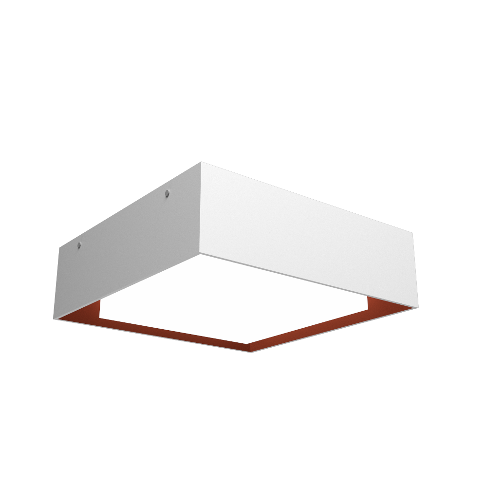 Ceiling Lamp Accord Meio Squadro 587CO - Meio Squadro Line Accord Lighting | 07. White