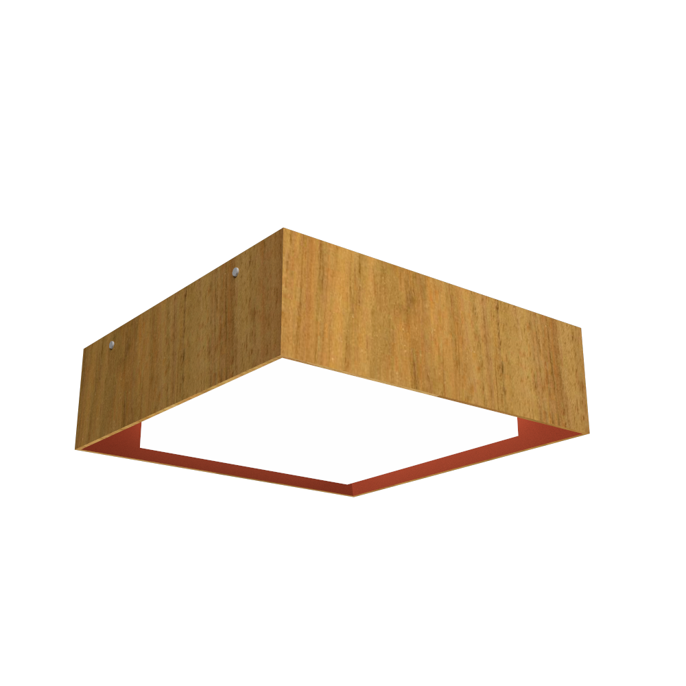 Ceiling Lamp Accord Meio Squadro 587CO - Meio Squadro Line Accord Lighting | 09. Louro Freijó