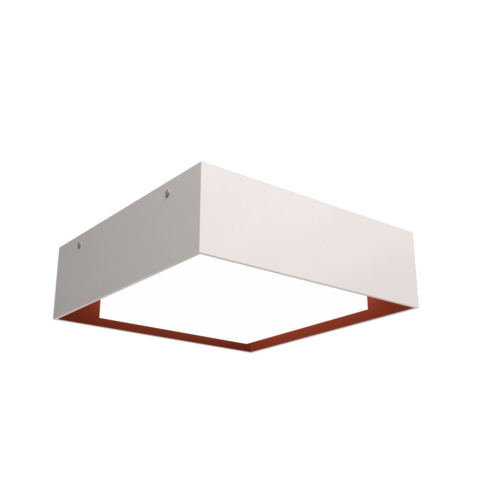 Ceiling Lamp Accord Meio Squadro 587CO - Meio Squadro Line Accord Lighting | 25. Iredescent White