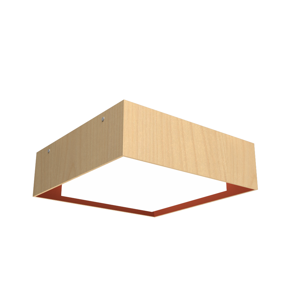 Ceiling Lamp Accord Meio Squadro 587CO - Meio Squadro Line Accord Lighting | 34. Maple