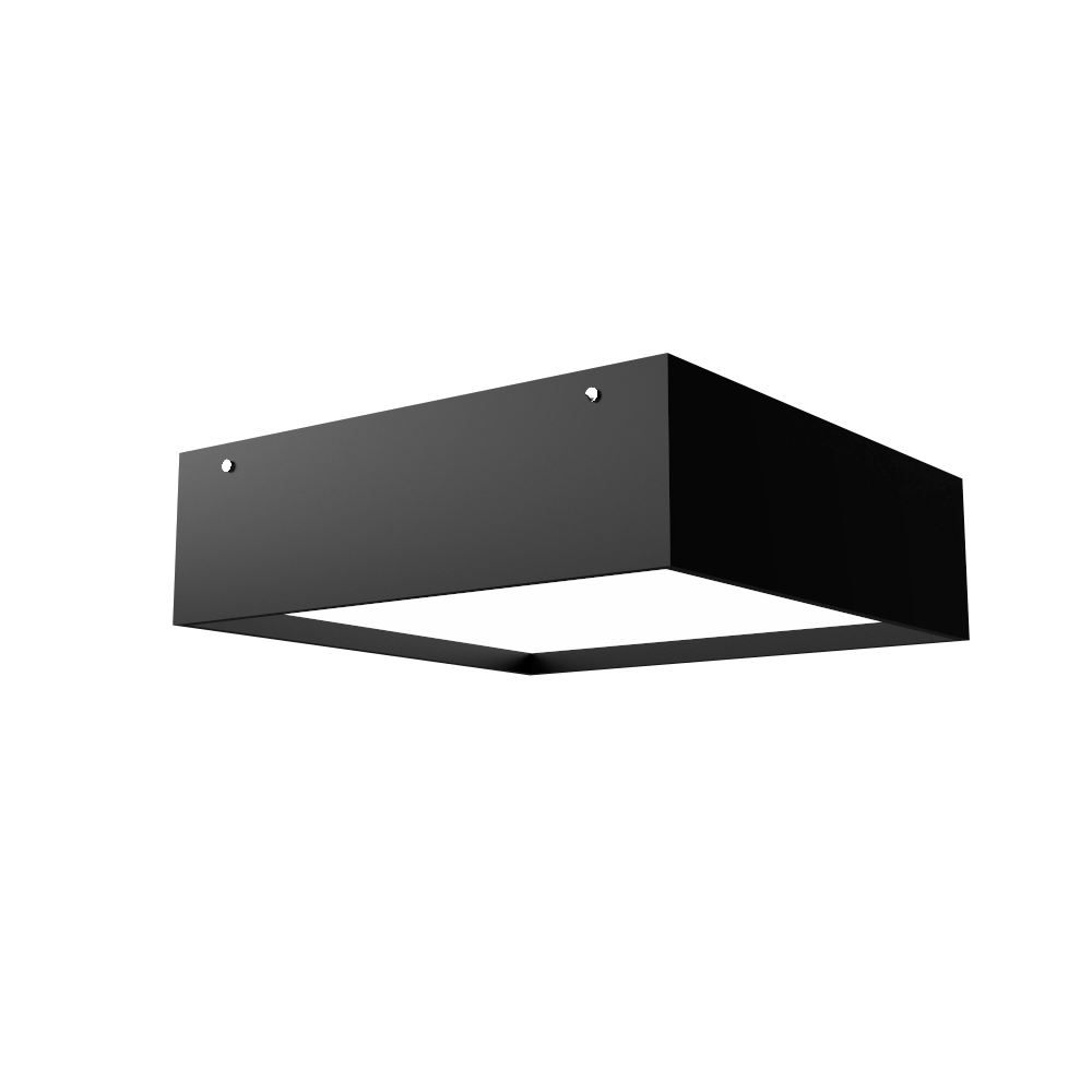 Ceiling Lamp Accord Clean 573 - Clean Line Accord Lighting | 02. Matte Black