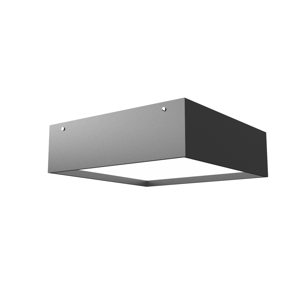 Ceiling Lamp Accord Clean 573 - Clean Line Accord Lighting | Lead Grey