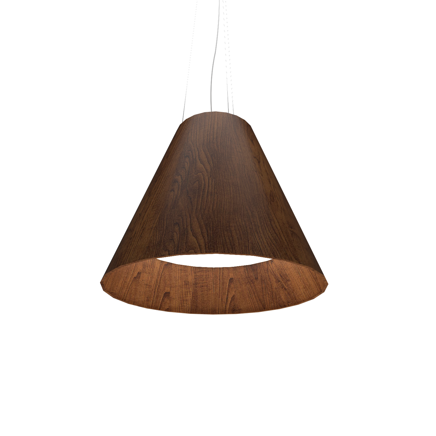 Pendant Lamp Accord Cônico 295 - Cônica Line Accord Lighting | 06. Imbuia