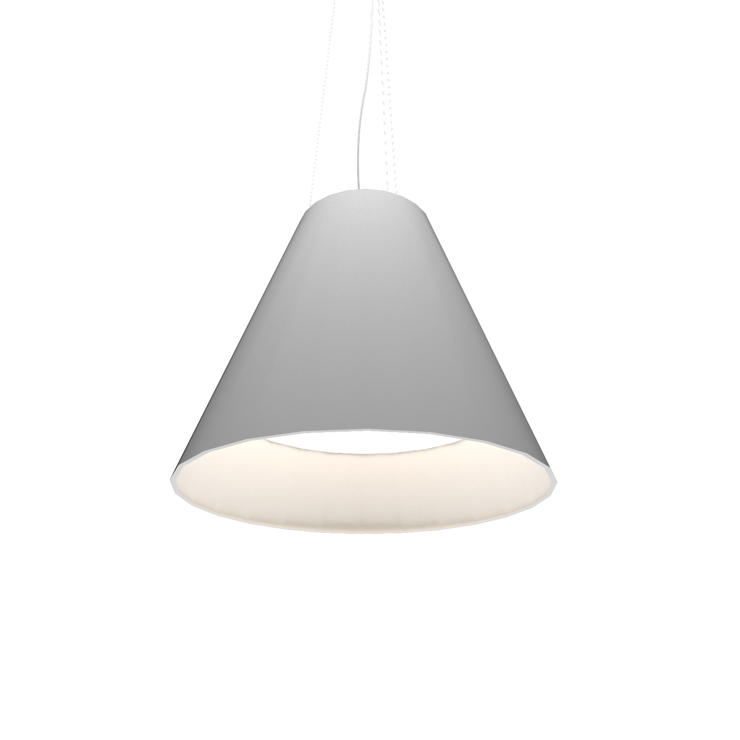 Pendant Lamp Accord Cônico 295 - Cônica Line Accord Lighting | 07. White