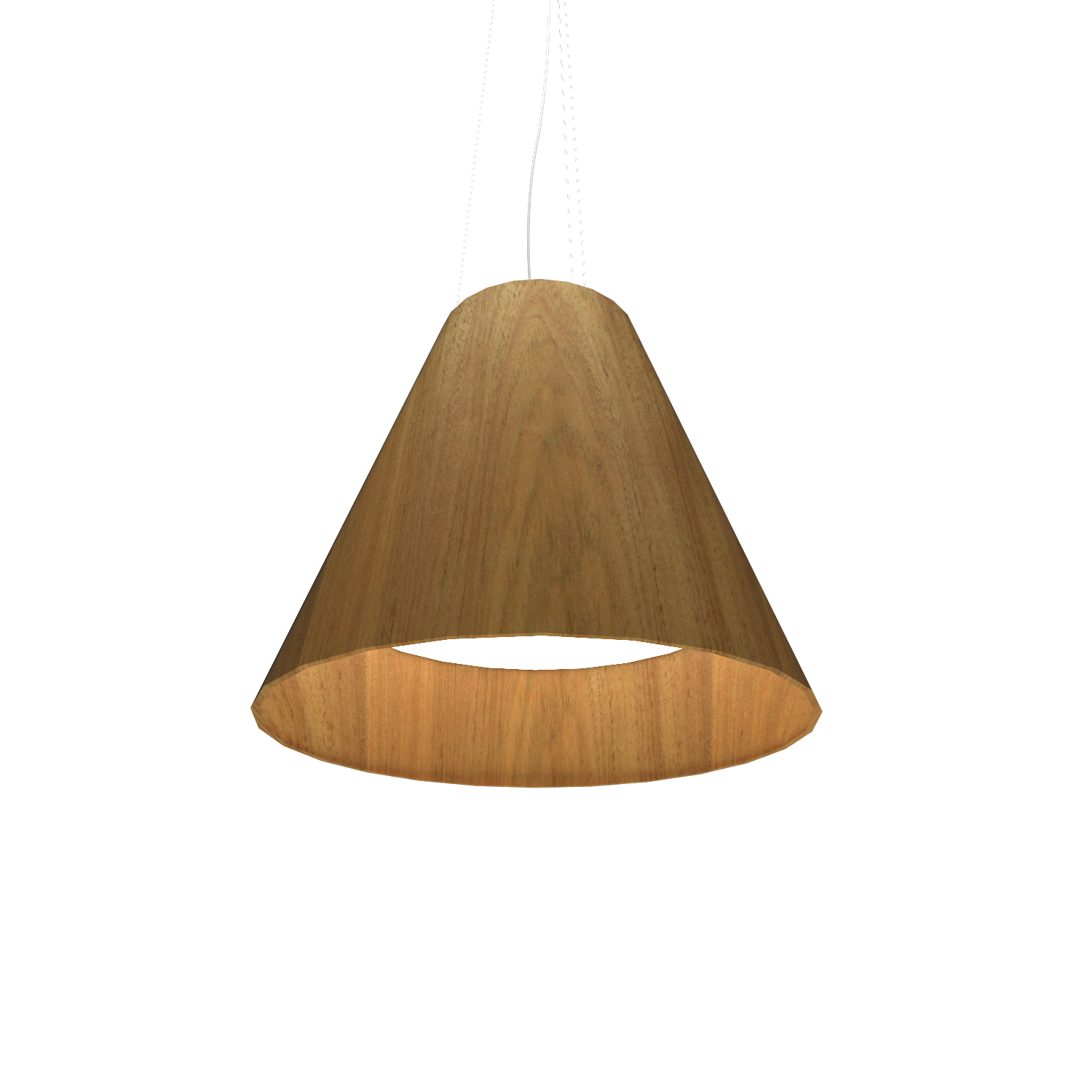 Pendant Lamp Accord Cônico 295 - Cônica Line Accord Lighting | 09. Louro Freijó