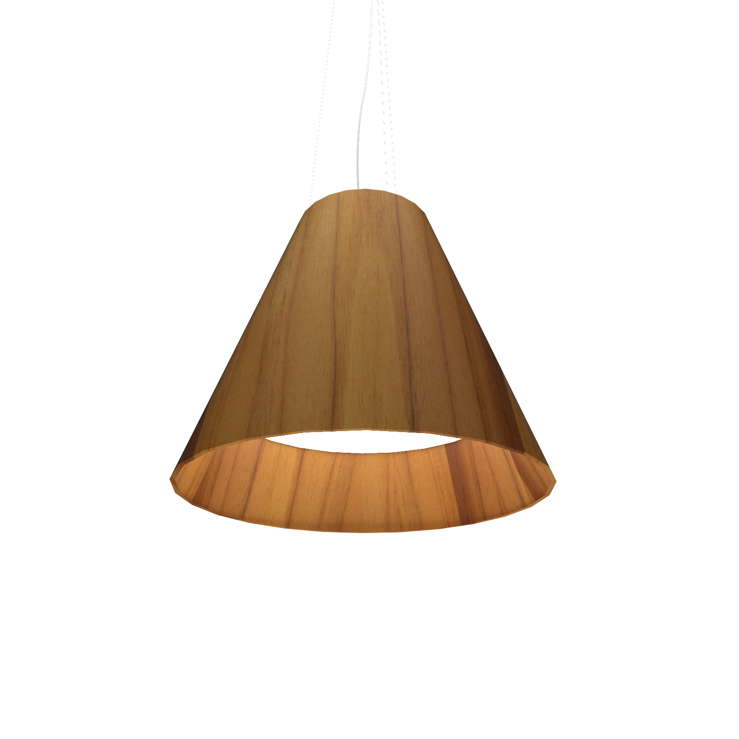 Pendant Lamp Accord Cônico 295 - Cônica Line Accord Lighting | 12. Teak