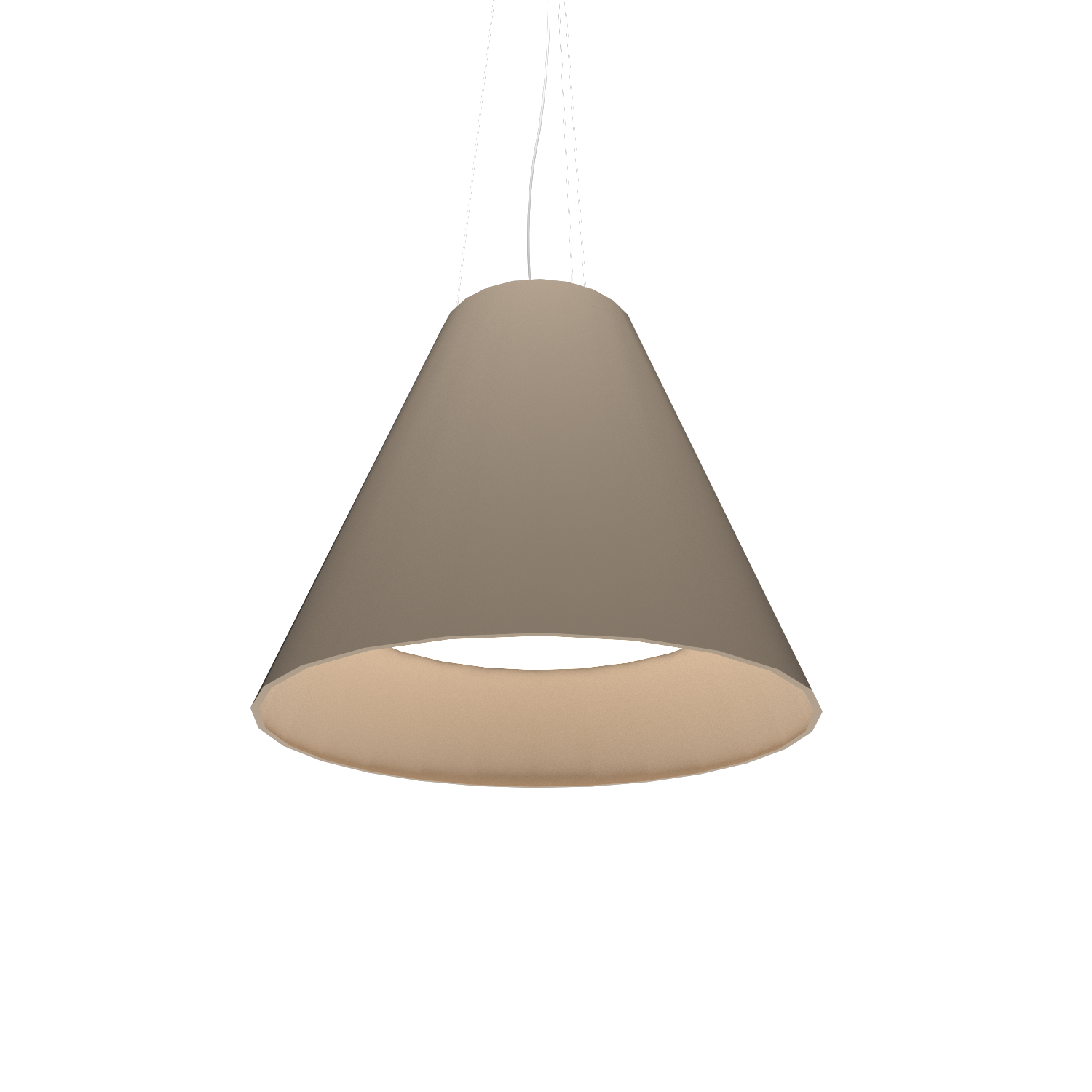 Pendant Lamp Accord Cônico 295 - Cônica Line Accord Lighting | 15. Cappuccino