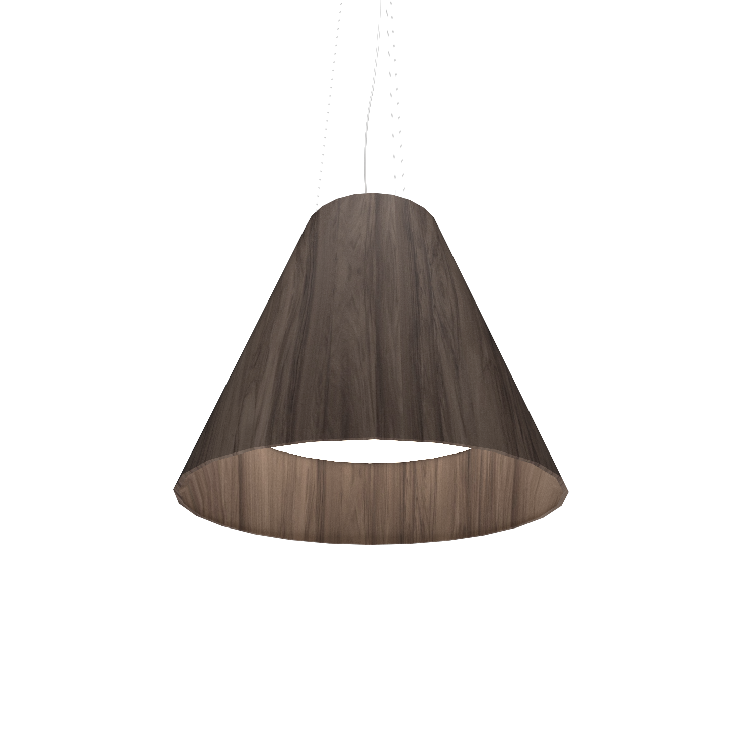Pendant Lamp Accord Cônico 295 - Cônica Line Accord Lighting | 18. American Walnut