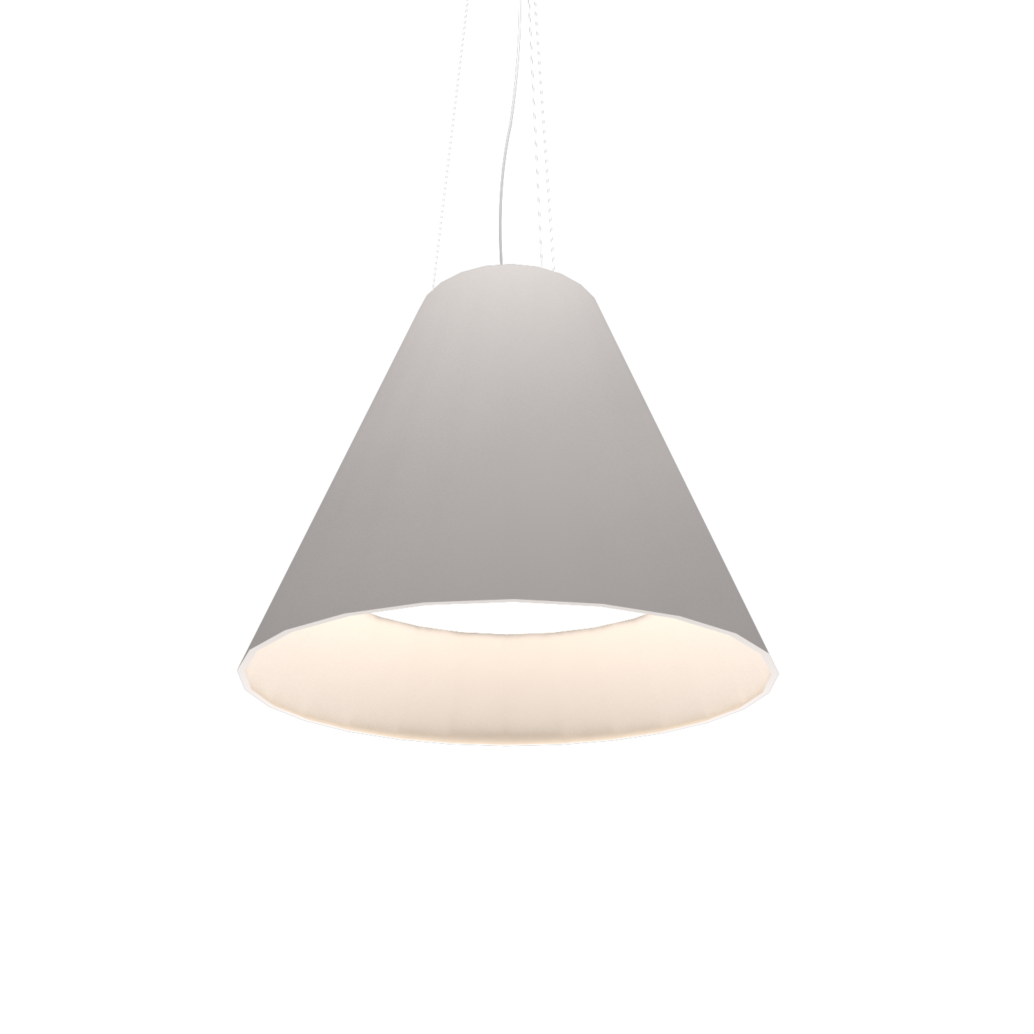 Pendant Lamp Accord Cônico 295 - Cônica Line Accord Lighting | 25. Iredescent White