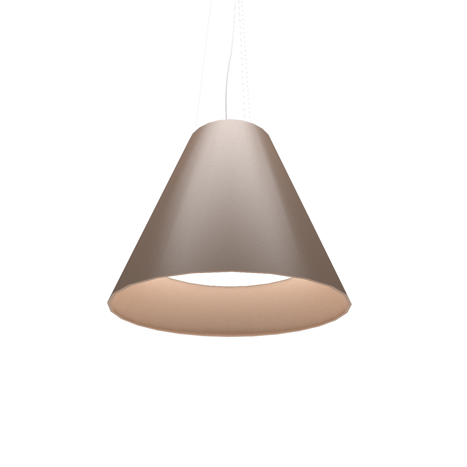 Pendant Lamp Accord Cônico 295 - Cônica Line Accord Lighting | 33. Bronze