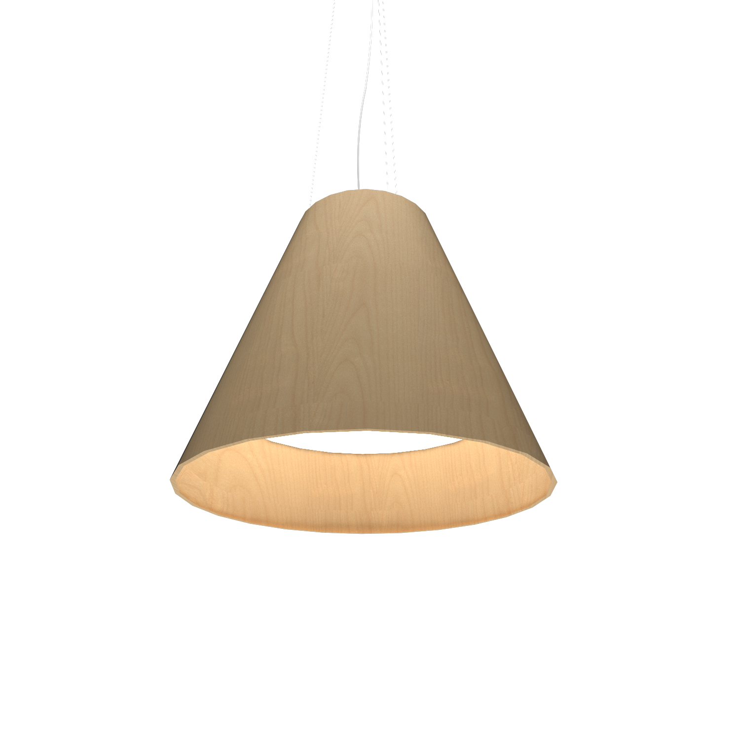 Pendant Lamp Accord Cônico 295 - Cônica Line Accord Lighting | 34. Maple
