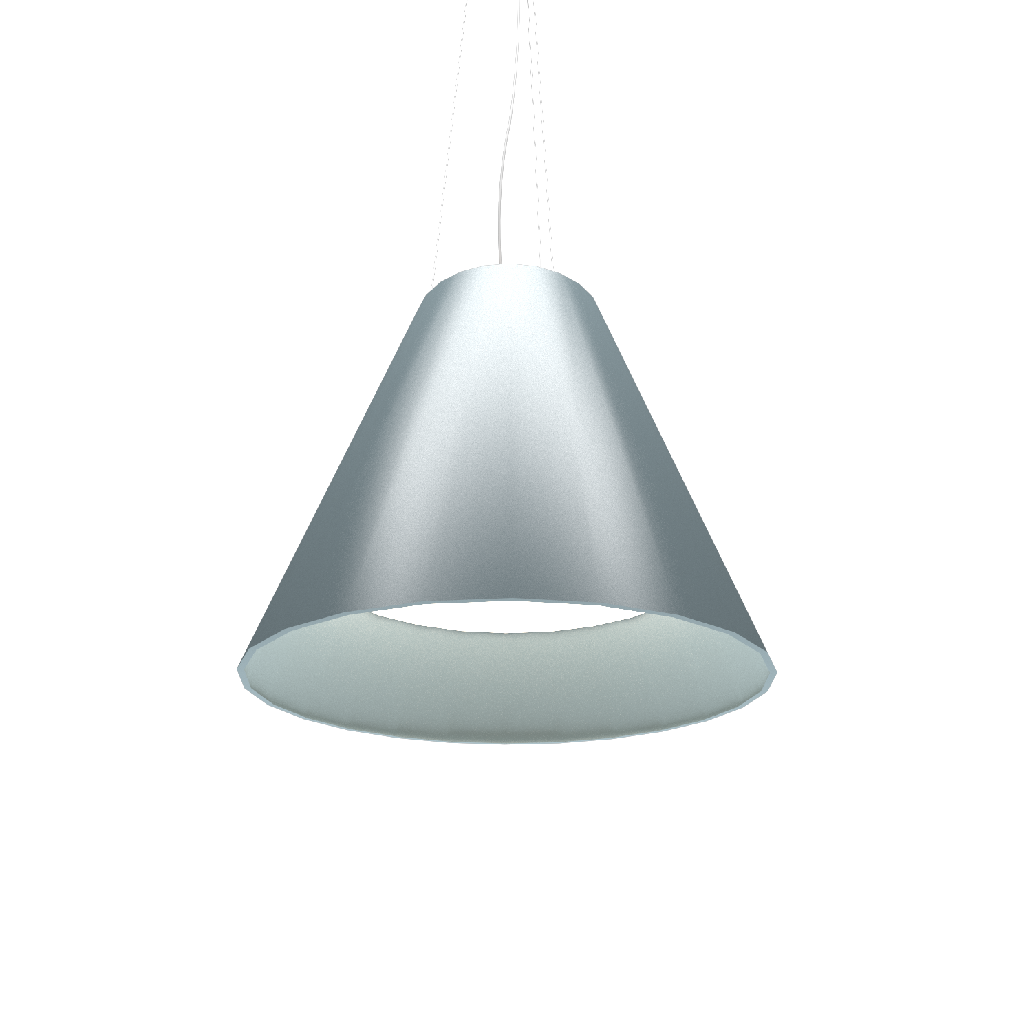 Pendant Lamp Accord Cônico 295 - Cônica Line Accord Lighting | Satin Blue