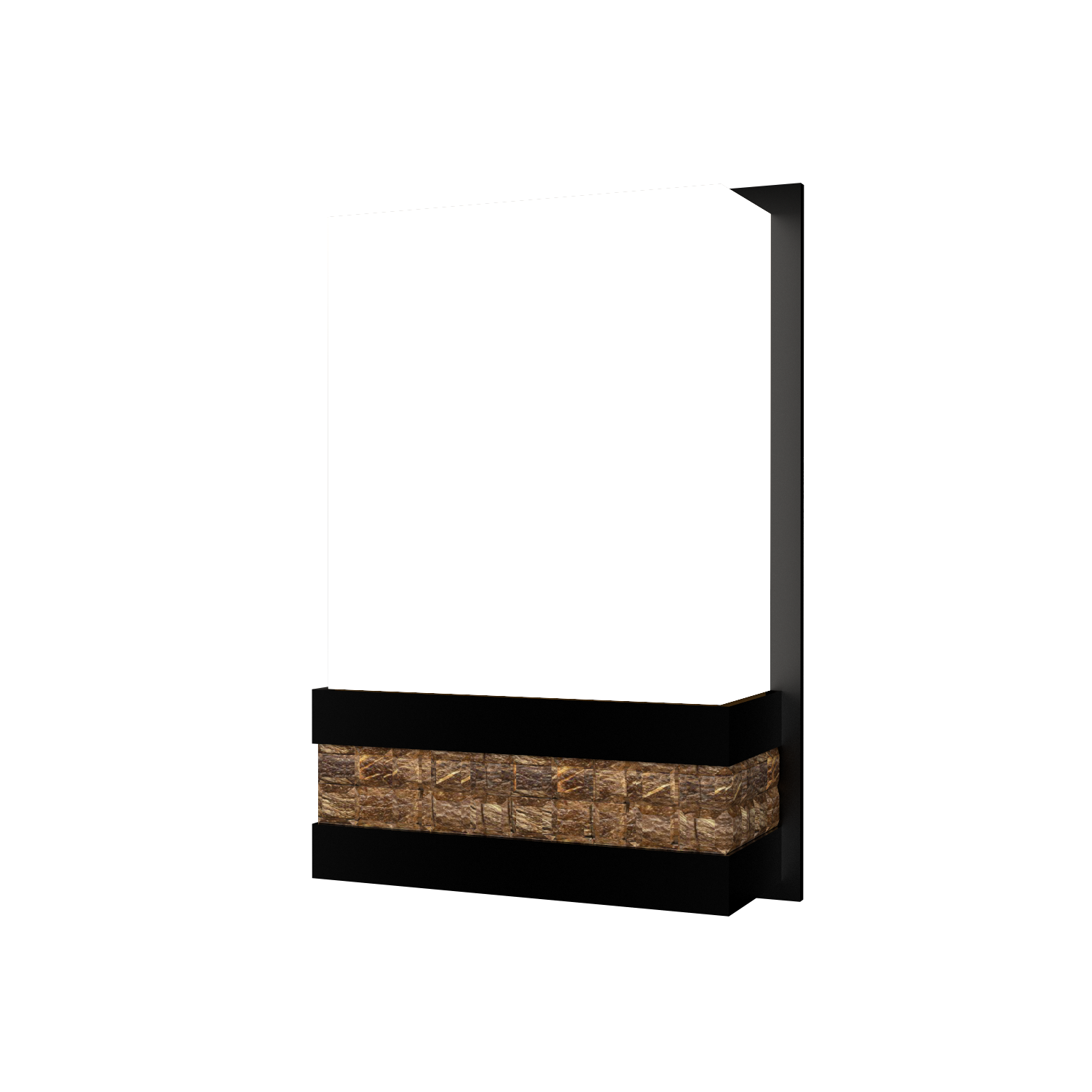 Wall Lamp Accord Pastilhada 443 - Pastilhada Line Accord Lighting | 02. Matte Black