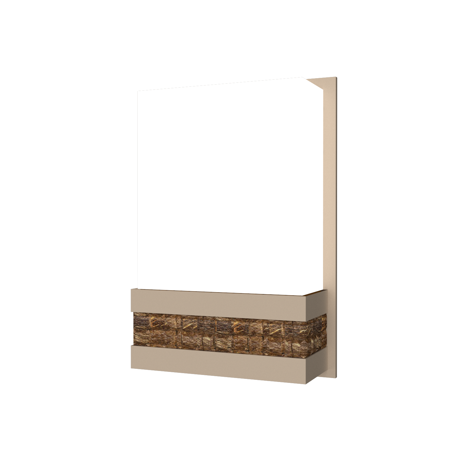 Wall Lamp Accord Pastilhada 443 - Pastilhada Line Accord Lighting | 15. Cappuccino