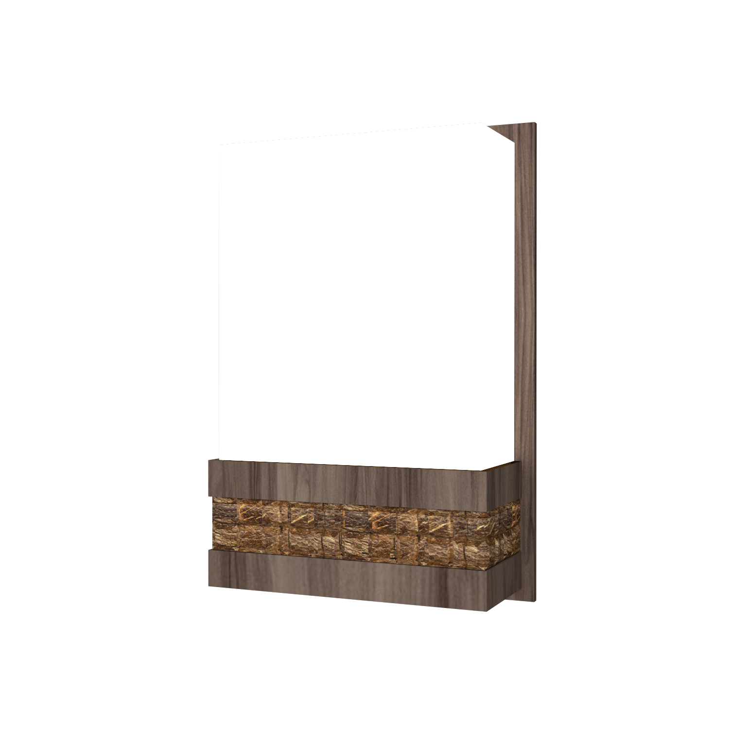 Wall Lamp Accord Pastilhada 443 - Pastilhada Line Accord Lighting | 18. American Walnut