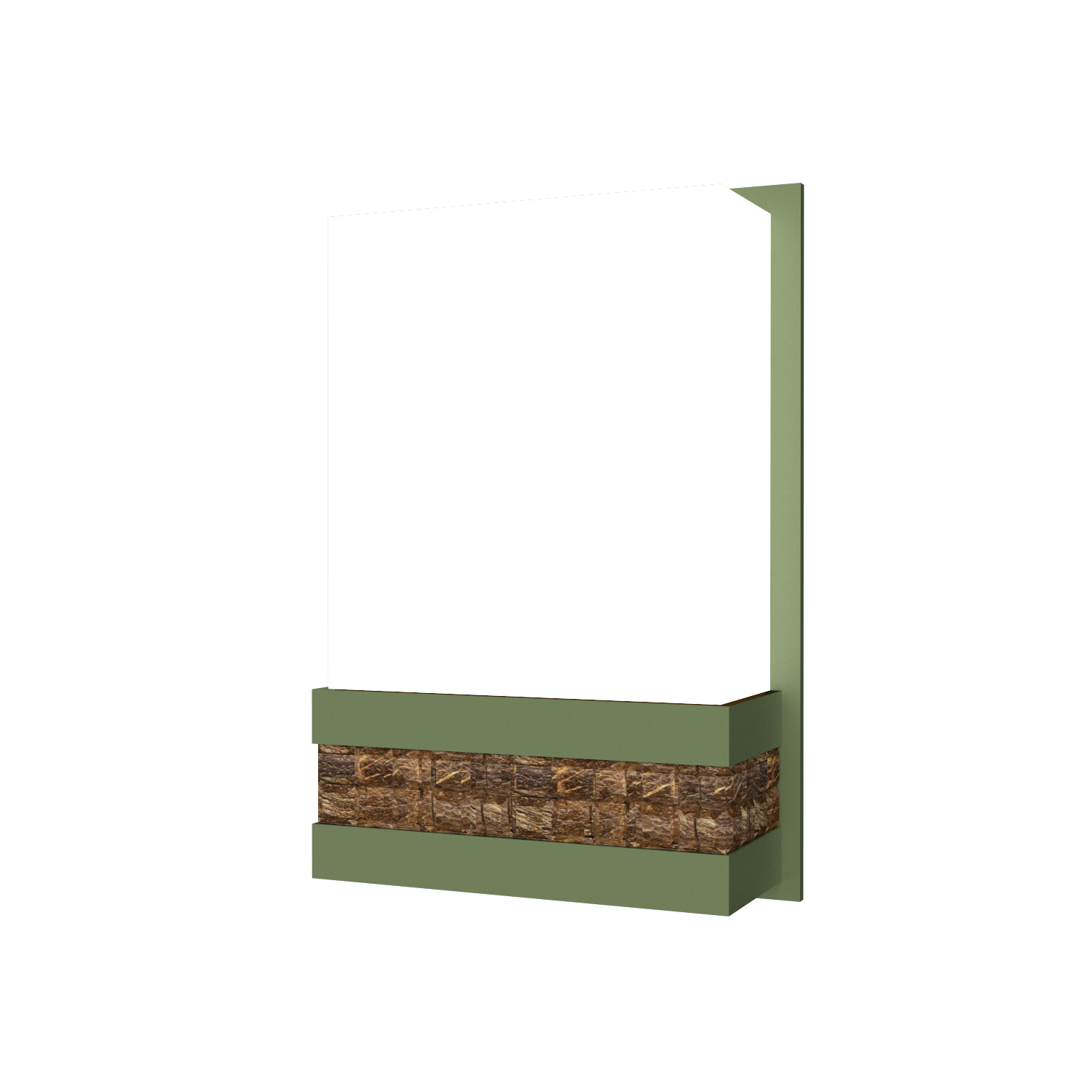 Wall Lamp Accord Pastilhada 443 - Pastilhada Line Accord Lighting | 30. Olive Green