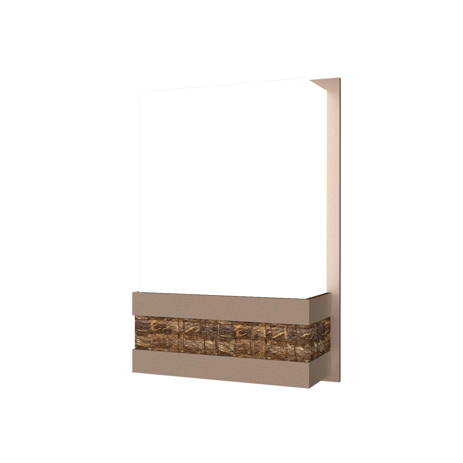 Wall Lamp Accord Pastilhada 443 - Pastilhada Line Accord Lighting | 33. Bronze