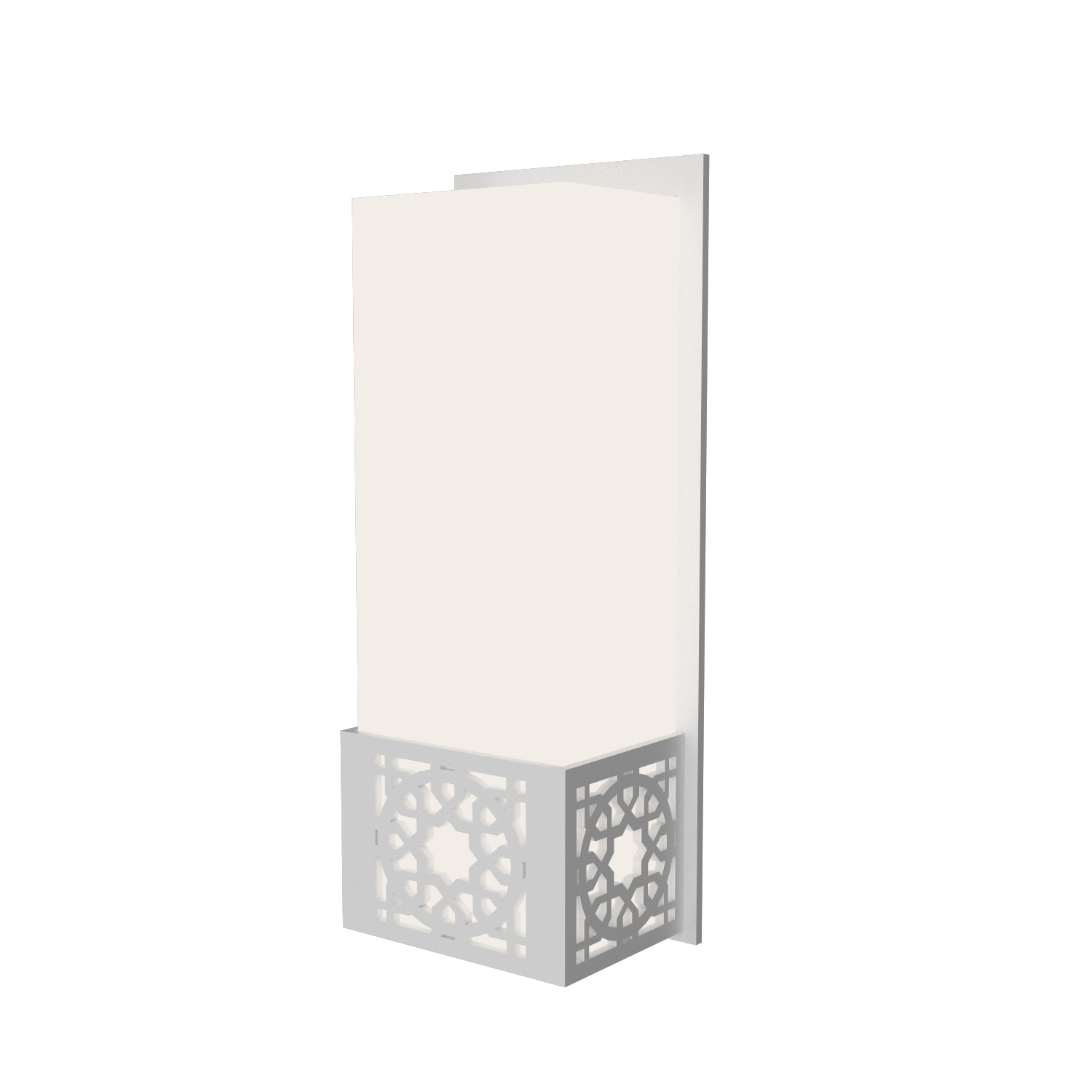 Wall Lamp Accord Patterns 4052 - Patterns Line Accord Lighting | 07. White