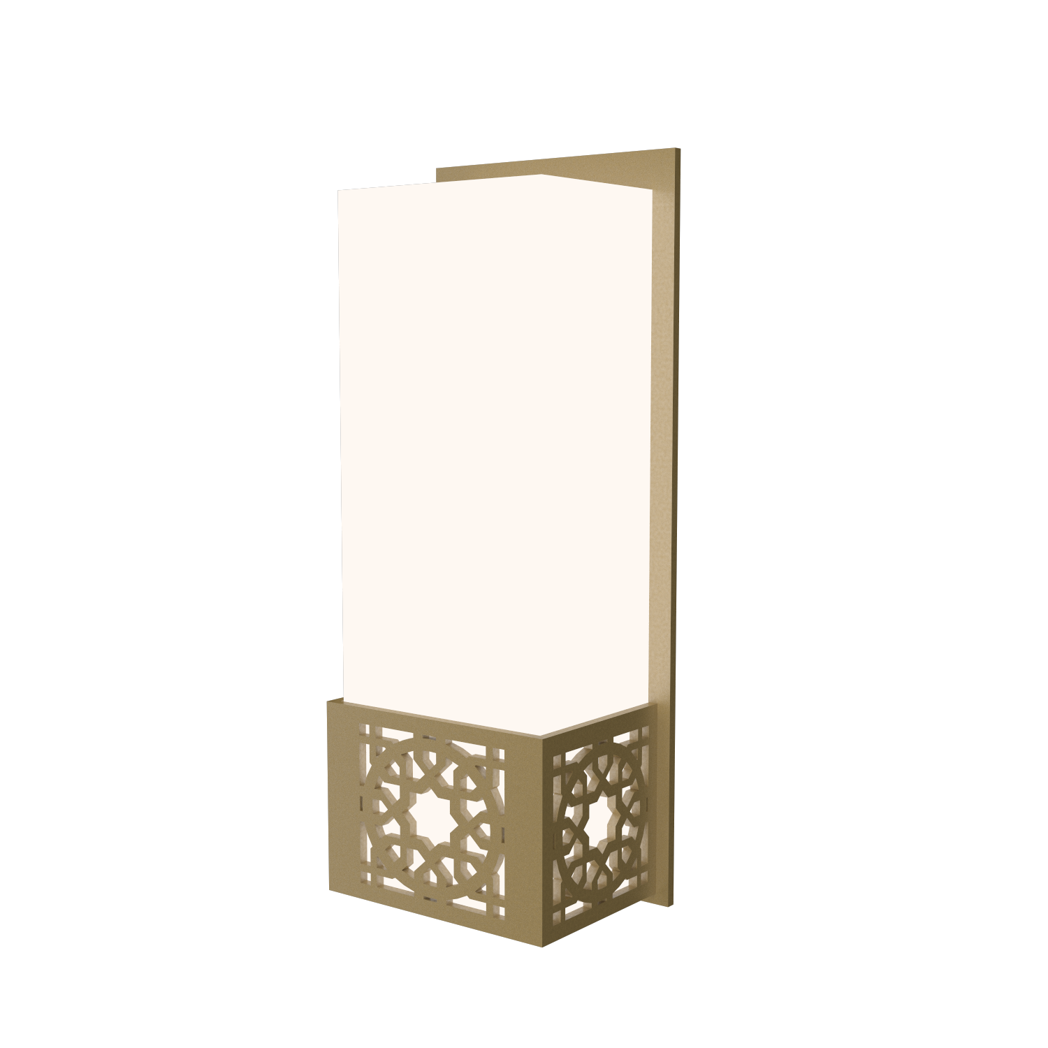 Wall Lamp Accord Patterns 4052 - Patterns Line Accord Lighting | Pale Gold