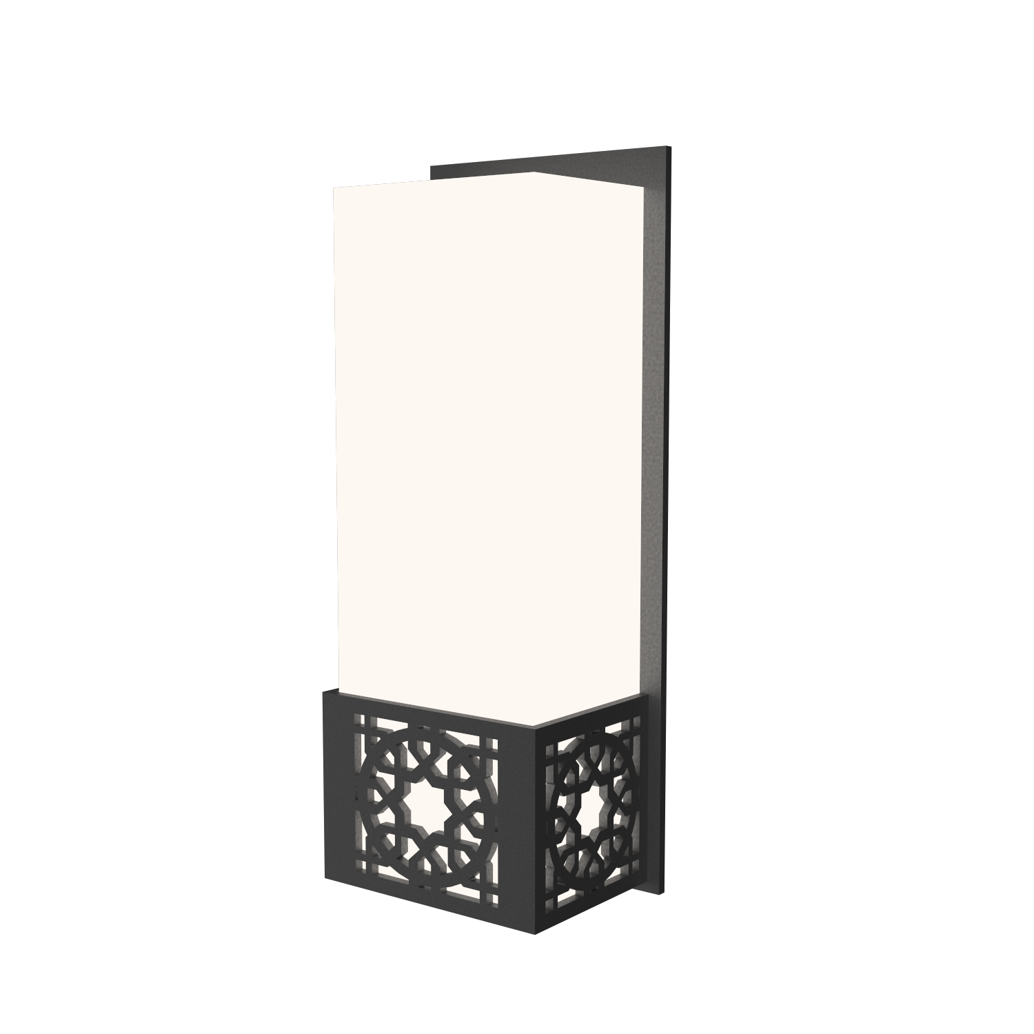 Wall Lamp Accord Patterns 4052 - Patterns Line Accord Lighting | Lead Grey