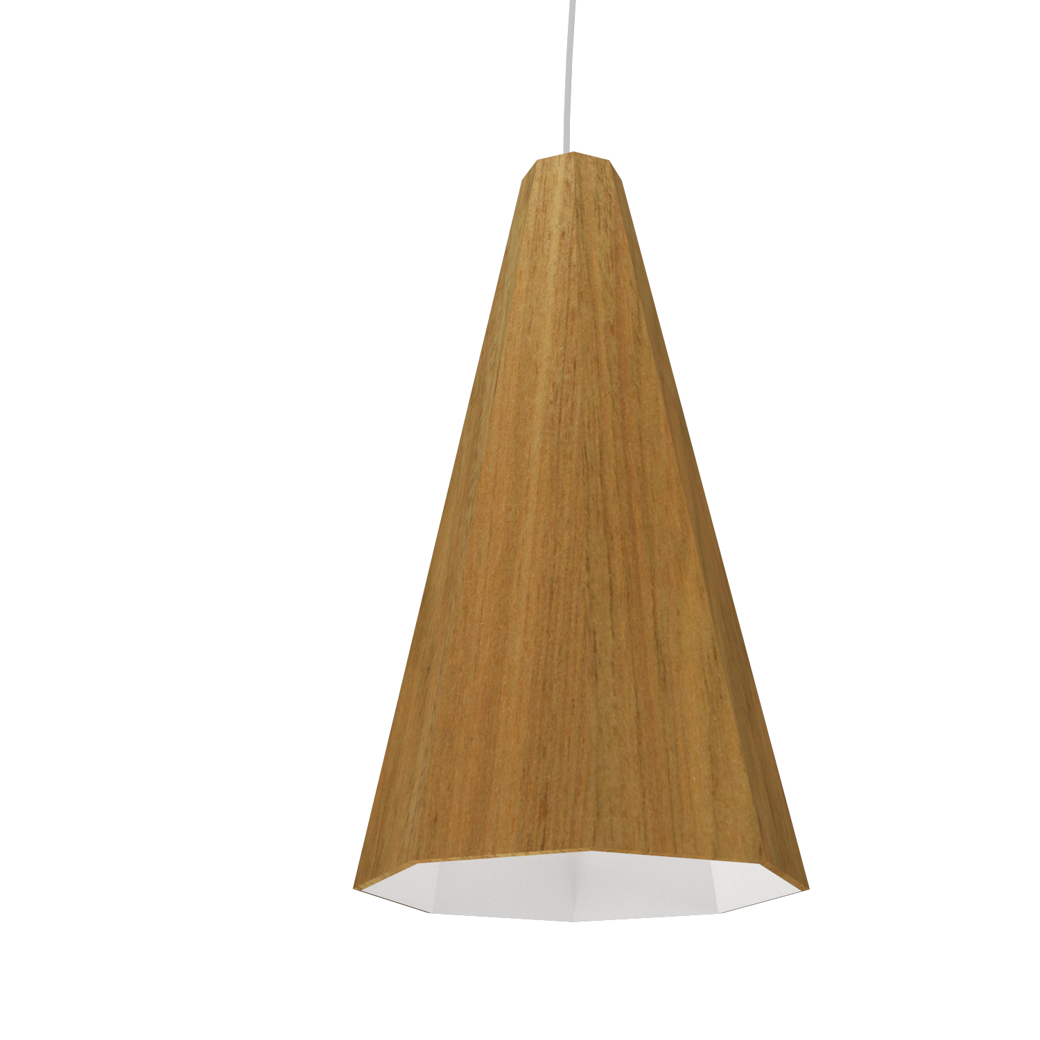 Pendant Lamp Accord Facetado 1231 - Facetada Line Accord Lighting | 09. Louro Freijó