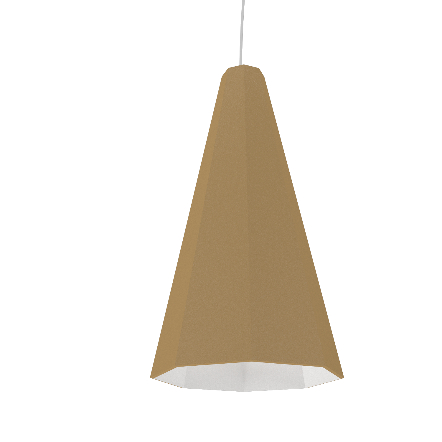 Pendant Lamp Accord Facetado 1231 - Facetada Line Accord Lighting | 27. Gold