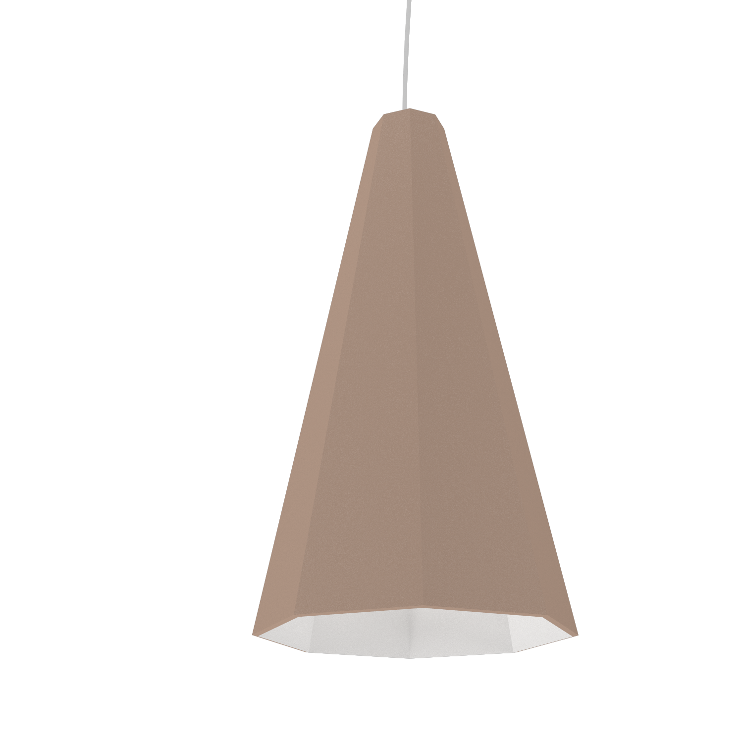 Pendant Lamp Accord Facetado 1231 - Facetada Line Accord Lighting | 33. Bronze
