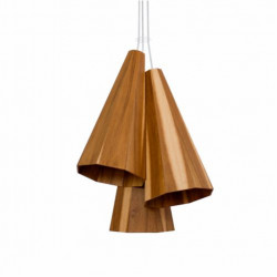 Pendant Lamp Trio Cônico Facetado 1232 - Facetada Line Accord Lighting