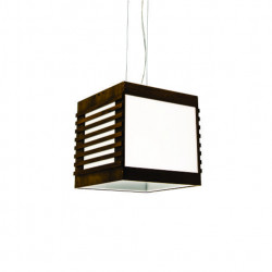 Pendant Lamp Cubo Aberto Ripado 800 - RipadaLine Accord Lighting