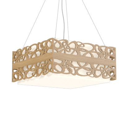 Pendant Lamp Olímpicos 1122 - OlímpicosLine Accord Lighting | 09. Louro Freijó