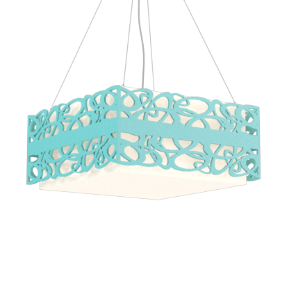Pendant Lamp Olímpicos 1122 - OlímpicosLine Accord Lighting | 13. Bluish Green