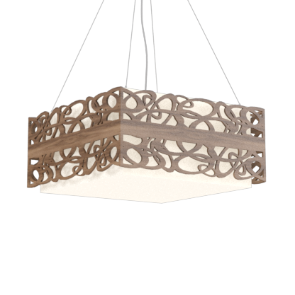 Pendant Lamp Olímpicos 1122 - OlímpicosLine Accord Lighting | 18. American Walnut