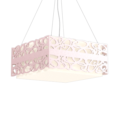 Pendant Lamp Olímpicos 1122 - OlímpicosLine Accord Lighting | 26. Light Pink