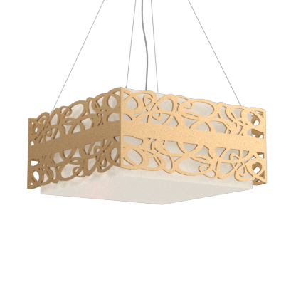 Pendant Lamp Olímpicos 1122 - OlímpicosLine Accord Lighting | 27. Gold