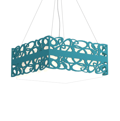 Pendant Lamp Olímpicos 1122 - OlímpicosLine Accord Lighting | 29. Teal