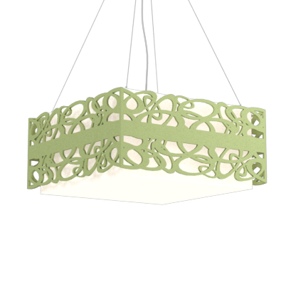 Pendant Lamp Olímpicos 1122 - OlímpicosLine Accord Lighting | 30. Olive Green
