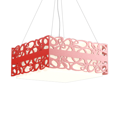 Pendant Lamp Olímpicos 1122 - OlímpicosLine Accord Lighting | 31. Ferrari Red