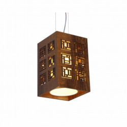 Pendant Lamp Retangular Labirinto 1132 - LabirintoLine Accord Lighting