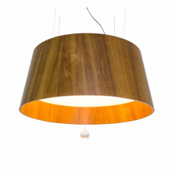 Pendant Lamp Cônico Liso Cristal 255C - CônicaLine Accord Lighting