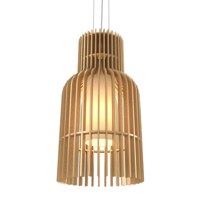 Pendant Lamp Accord Stecche Di Legno 1137 - Stecche Di Legno Line Accord Lighting | 27. Gold
