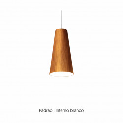 Pendant Lamp Accord Cônico 1233 - Cônica Line Accord Lighting