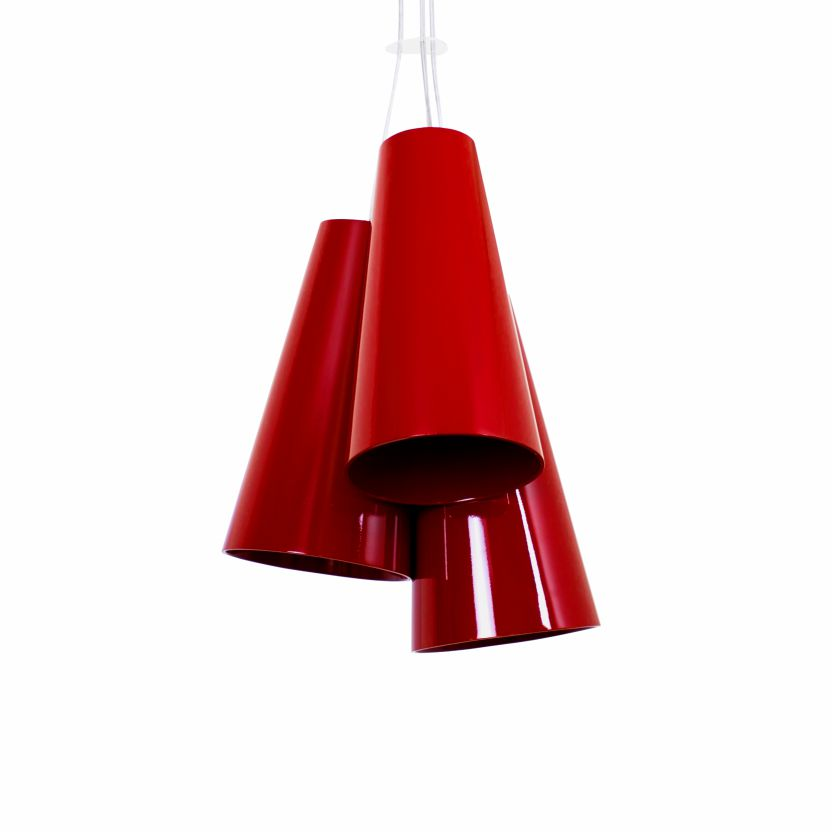 Pendant Lamp Triplo Cônico 1234 - CônicaLine Accord Lighting